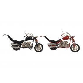 DECORATIVE VEHICLE METAL 25,5X6,5X11 MOTORCYCLE 2