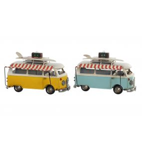 DECORATIVE VEHICLE METAL 27X13X18 FURGO 2 MOD.
