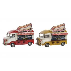 DECORATIVE VEHICLE METAL 28X15,5X20,5 FOODTRUCK 2