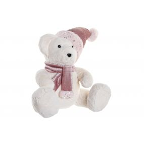 FIGURE POLYESTER POREXPAN 37X28X40 BEAR WHITE