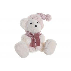 FIGURE POLYESTER POREXPAN 26X19X27 BEAR WHITE