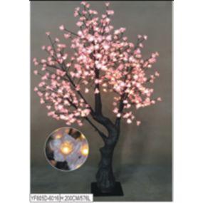 TREE LED METAL 100X100X250 576LEDS IP44 5M.CABLE