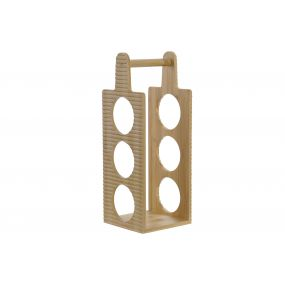 BOTTLE RACK BAMBOO 15X14,5X40 6B. NATURAL
