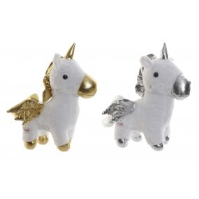 CUDDLY TOY POLYESTER LED 34X24X35 UNICORN 2 MOD.