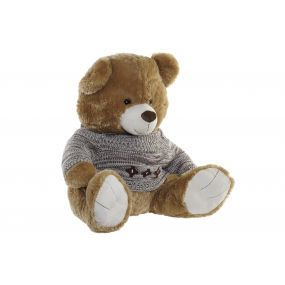 CUDDLY TOY POLYESTER 60X60X57 BEAR BROWN