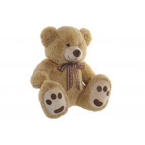 CUDDLY TOY POLYESTER 45X40X51 BEAR LIGHT BROWN