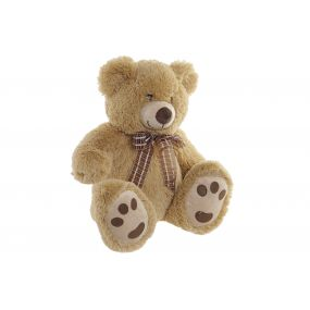 CUDDLY TOY POLYESTER 35X30X41 BEAR LIGHT BROWN