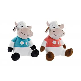 CUDDLY TOY POLYESTER 38X29X36 COW 2 MOD.