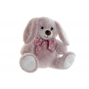 CUDDLY TOY POLYESTER 27X23X26 PINK