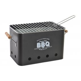 BARBECUE METAL 30X22X22 BBQ BLACK