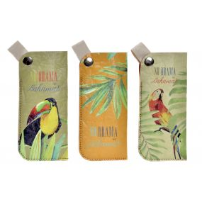 GLASSES CASE ECOLOGICAL PAPERBOARD 17X1X7,5 3 MOD.