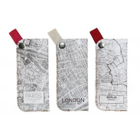 GLASSES CASE ECOLOGICAL PAPERBOARD 17X1X7,5 MAP 3