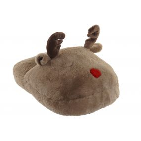 FOOT WARMER POLYESTER 32X40X21 REINDEER BROWN
