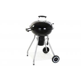 BARBECUE METAL ENAMELLED 70X58X102 THERMOMETER