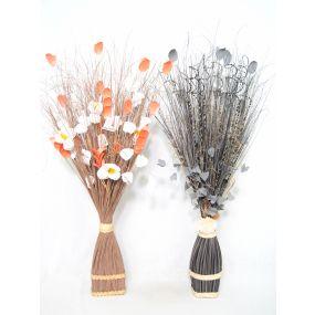 BOUQUET DRY FLOWER 30X20X100 45 CM NATURAL FLOWERS