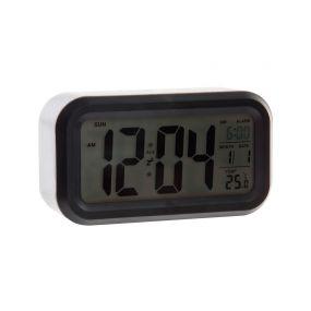 CLOCK PP 13,5X4,8X7,4 DIGITAL BLACK