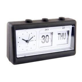 ALARM CLOCK RUBBER 19X6,5X12 CALENDAR
