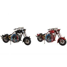 DECORATIVE VEHICLE METAL 46X24X10 MOTORCYCLE 2 MOD