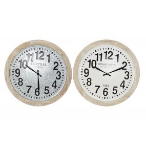 WALL CLOCK MDF METAL 70X4X70 70 2 MOD.