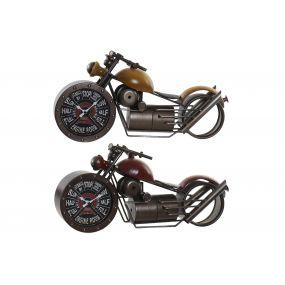 TABLE CLOCK METAL 50X14,5X25 MOTORCYCLE 2 MOD.