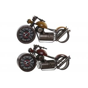 TABLE CLOCK METAL 50X14,5X25 MOTORCYCLE 2 MOD.