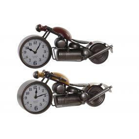 TABLE CLOCK METAL 39X12X16,5 MOTORCYCLE 2 MOD.