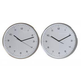 WALL CLOCK ALUMINIUM 40X4X40 40 2 MOD.