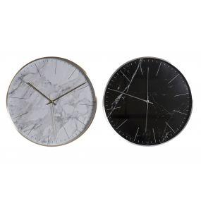 WALL CLOCK ALUMINIUM 40X5X40 40 2 MOD.
