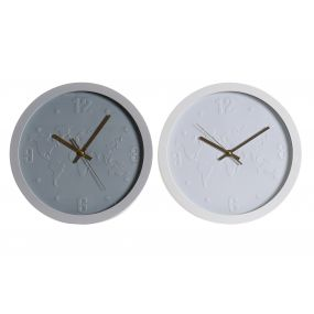 WALL CLOCK PVC 30X4X30 30 2 MOD.