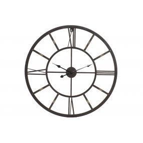 WALL CLOCK METAL 80X3X80 80