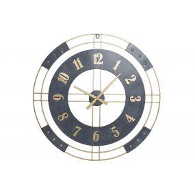 WALL CLOCK METAL 80X4X80 80