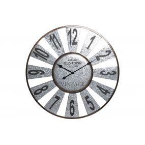 WALL CLOCK METAL 80X5X80 80