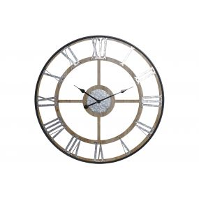 WALL CLOCK MDF 80X4X80 80