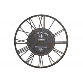 WALL CLOCK METAL 79X4X79 79
