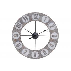 WALL CLOCK MDF IRON 68X4X68 68