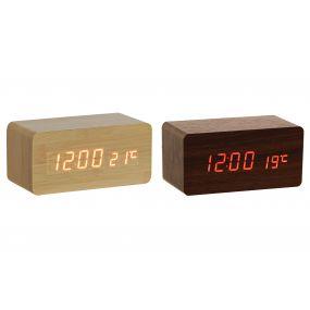 CLOCK MDF PVC 15X7X7 SPEAKER 2 MOD.