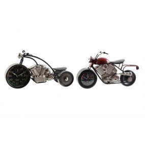 TABLE CLOCK IRON 36X14,5X20 MOTORCYCLE 2 MOD.