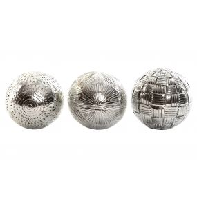 DECORATION BALL RESIN 30X22X9 10CM. DECOR 3 MOD.