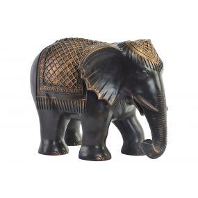 FIGURE RESIN 37,5X27,5X27 ELEPHANT