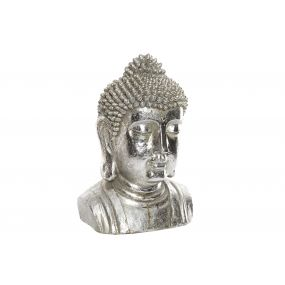 FIGURE RESIN 25X20,5X36 BUDDHA HEAD MATTE