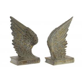 FIGURE RESIN 15X9X19 WING AGED 2 MOD.