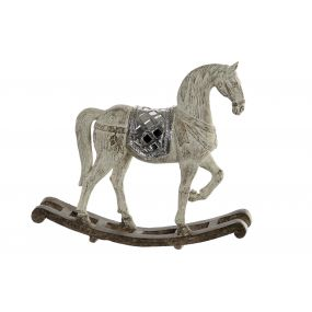 FIGURE RESIN 27X7X24 HORSE
