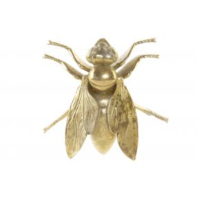FIGURE RESIN 15X15X5 BEE WALL GOLDEN