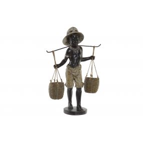 FIGURE RESIN 33X13X48 COLONIAL BROWN