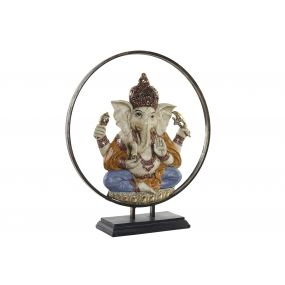FIGURE RESIN METAL 51X16X57 GANESH