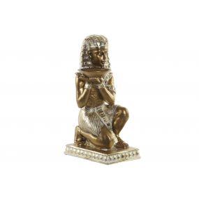 FIGURE RESIN 15X19X38,5 EGYPTIAN GOLDEN