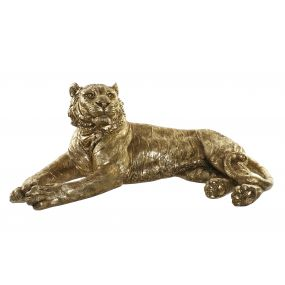 FIGURE RESIN 106X57X44 TIGER GOLDEN