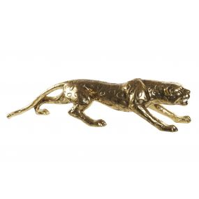 FIGURE RESIN 113X37X25 PANTHER GOLDEN