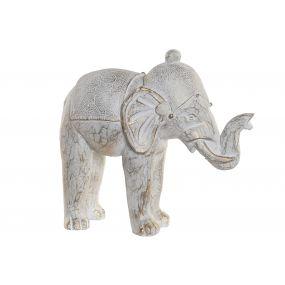 FIGURE RESIN 39X18X36 ELEPHANT