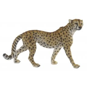 FIGURE RESIN 69X20,5X42,4 LEOPARD ORANGE